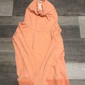lululemon athletica Sweaters - LULULEMON Stress less hoodie peach size 8
